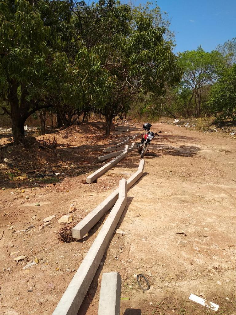 Terreno do Cetras de Cuiabá está sendo cercado