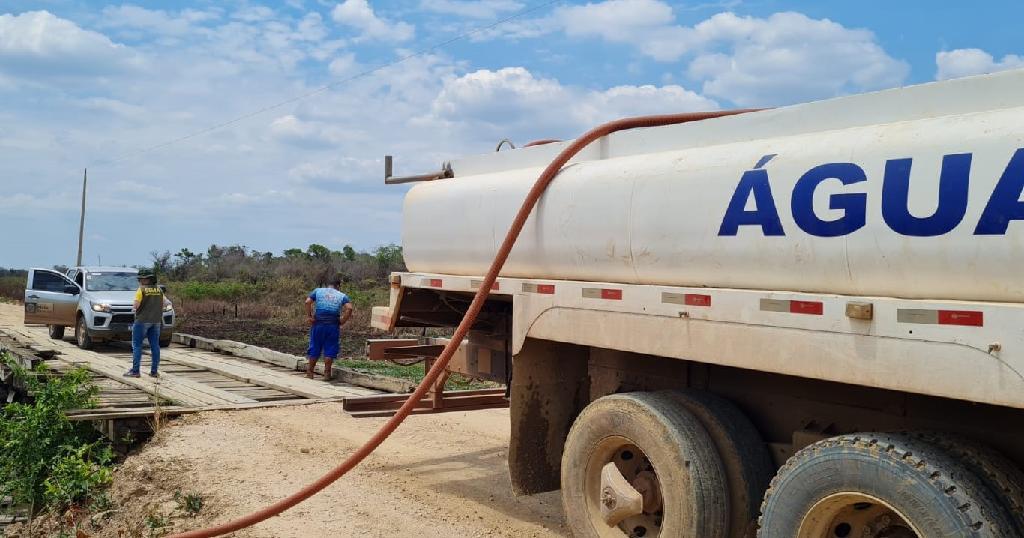Sema-MT intensifica aporte de água com caminhões-pipa para atender animais do Pantanal