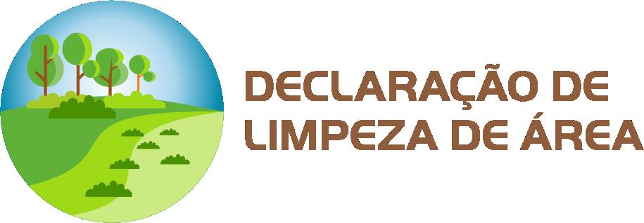 Declaração de Limpeza de Área
