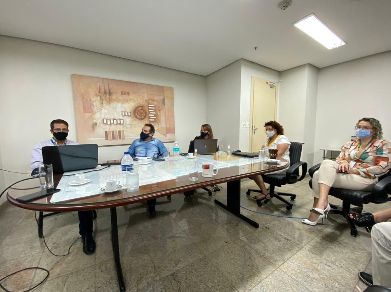 Secretarias de Meio Ambiente de MT e Goiás estreitam relação para aprimorar ações de preservação e fiscalização