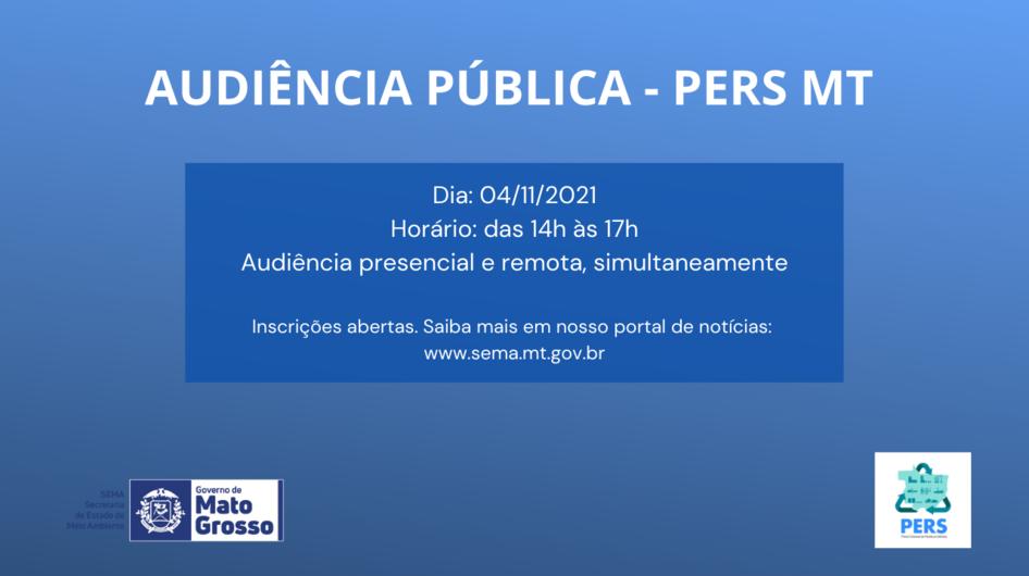 Audiência Pública discute Plano Estadual de Resíduos Sólidos